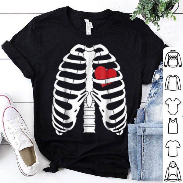 Skeleton Halloweens With Heart shirt