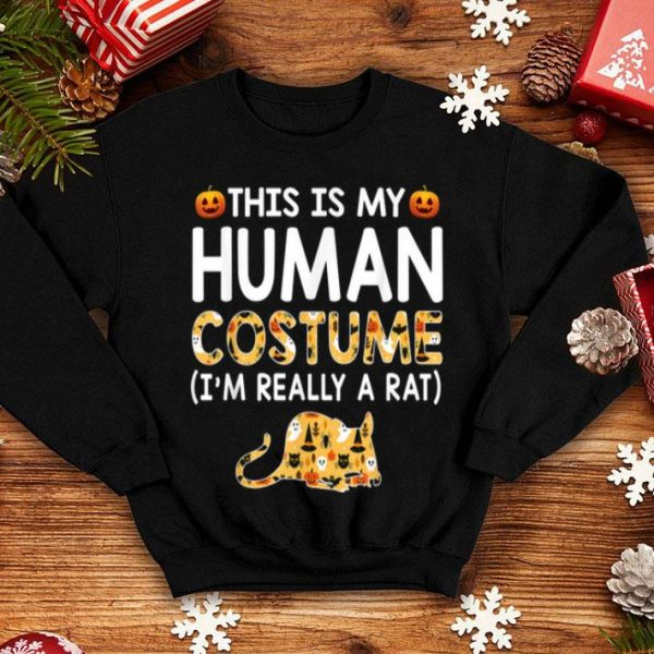 This Is My Human Costume Halloween Rats shirt