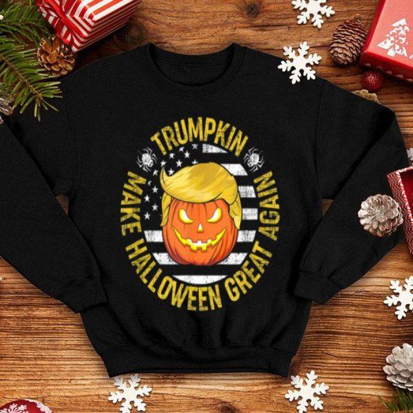 Usa Trumpkin Make Halloween Great Again Funny shirt