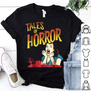 Vintage Horror Movie Poster Funny Halloween shirt