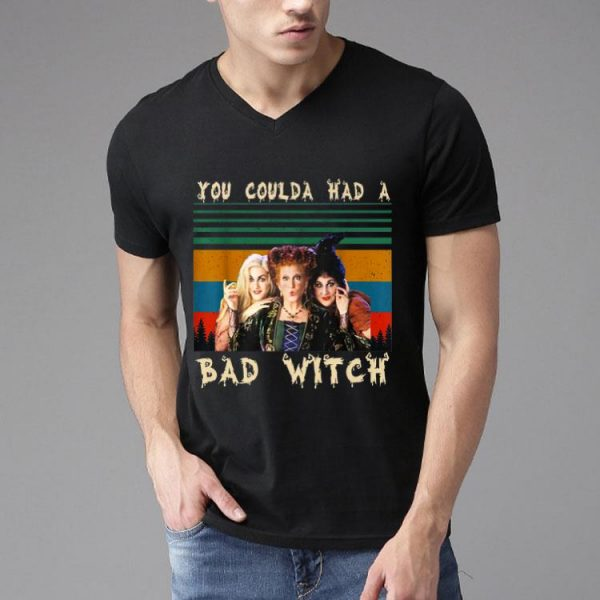 You Coulda Had A Bad Witch Halloween Vintage shirt