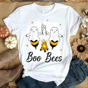 Awesome Boo Bees Camping Bees Costume Boo Camping Halloween shirt