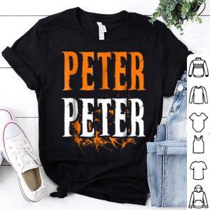 Awesome Mens Peter Peter Pumpkin Eater Costume Halloween Splash shirt