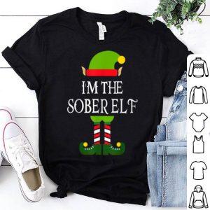 Beautiful I'm The Sober Elf Family Matching Christmas Pajama shirt