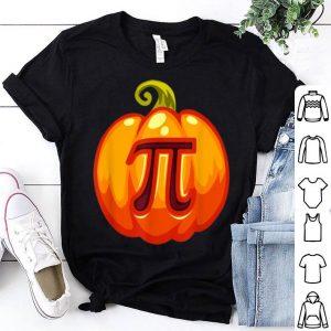 Beautiful Math Teacher Halloween Costume Pumpkin Pi Pun Pie Gift Men shirt