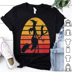 Beautiful Retro Vintage Witch Halloween Costume Men Women Gift shirt