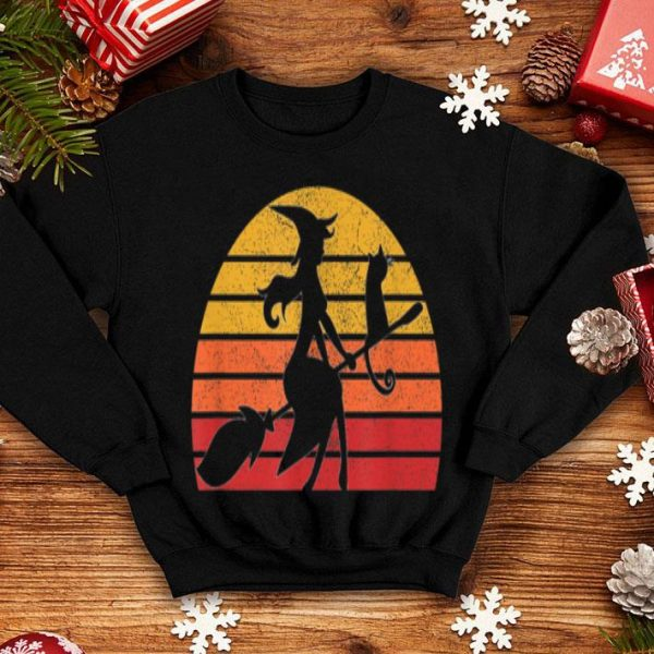 Beautiful Retro Vintage Witch Halloween Costume Men Women Gift shirt