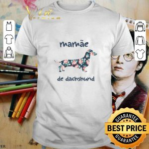 Best Floral mamae de dachshund shirt