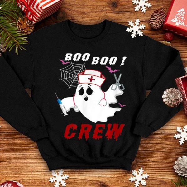 Hot Boo Boo Crew Nurse Ghost Halloween Costume Gift shirt