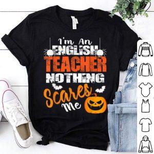 Hot English Teacher Funny Halloween shirt
