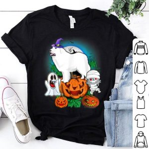 Hot Great Pyrenee Halloween shirt