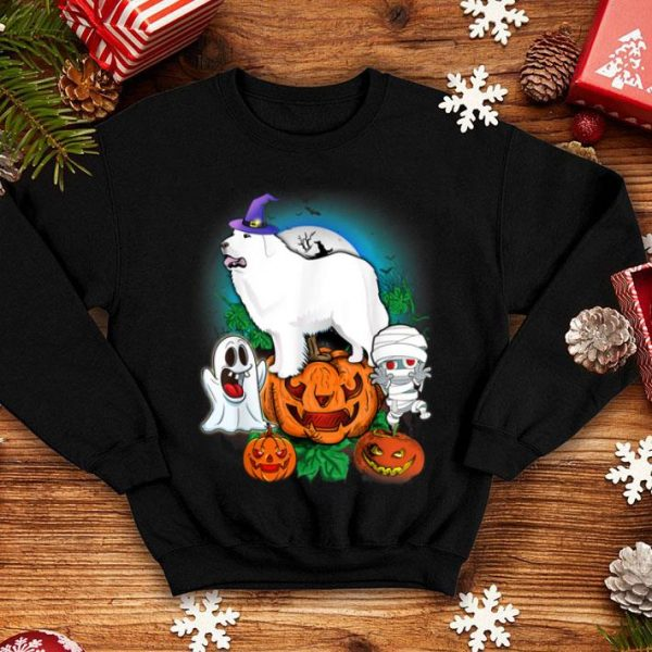 Hot Great Pyrenee Halloween shirt