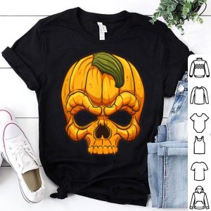 Hot Scary Halloween Inspired Pumpkin Mask Trick or Treat Gift shirt