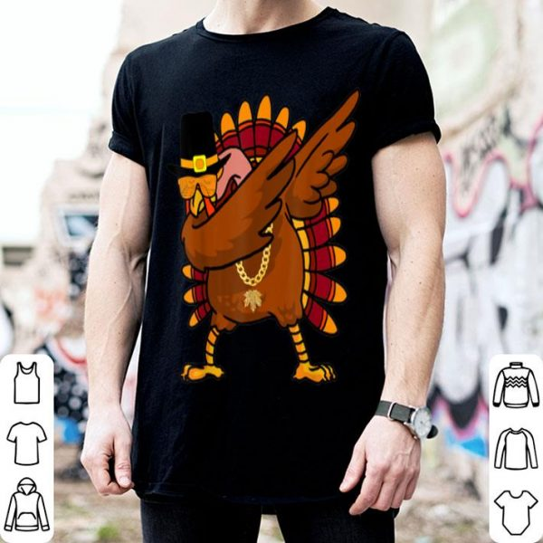 Nice Dabbing Pilgrim Dab Turkey Thankful Tee Thanksgiving Day shirt