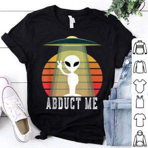 Nice UFO Alien Halloween Costume Abduct Me shirt