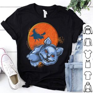 Official Halloween Cat Witch Pumpkin Moon Graphic - MoonSong (TM) shirt