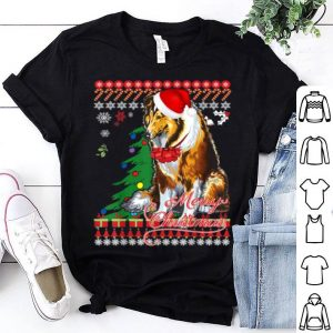 Official Rough Collie Christmas Sweater shirt