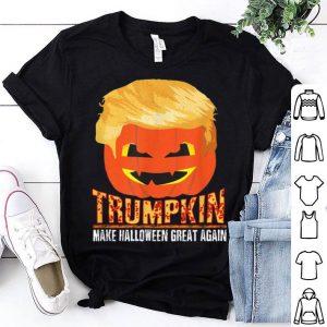 Official Trumpkin Pumpkin Politics Halloween Ironic Costume Fun Gift shirt