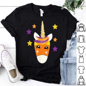 Original Candy Corn Unicorn Mom Daughter Matching Halloween shirt