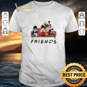 Original Friends Dragon Ball characters shirt