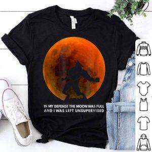 Original Full Moon WereWolf for Kids womens Horror Halloween shirt