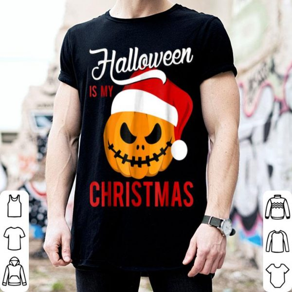 Original Halloween Is My Christmas December shirt