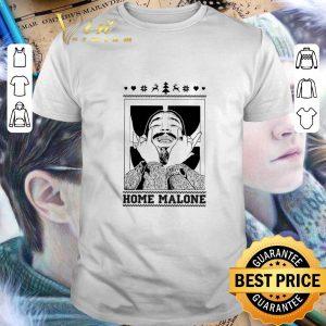 Original Post Malone Home Alone Christmas shirt