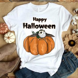 Original Star Wars Porg On A Pumpkin Halloween Graphic shirt