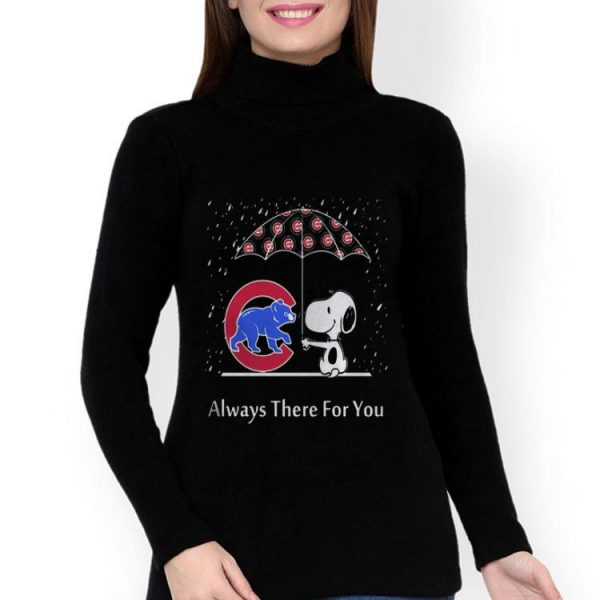 Snoopy And Chicago Cubs Always There For You shirt