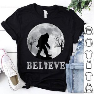 Top I Believe in Bigfoot Gifts for Sasquatch Believers shirt