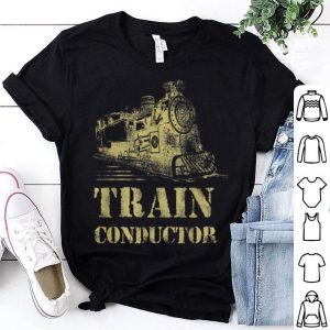 Top Train Conductor Funny Train Lover Halloween Costume shirt