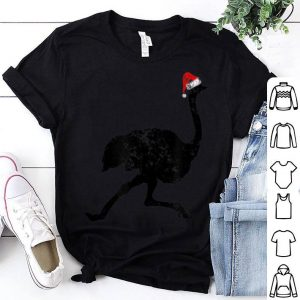 Awesome Christmas Pajama - Ostrich Santa Hat shirt