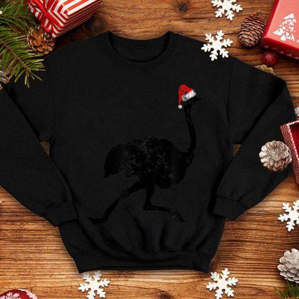 Awesome Christmas Pajama - Ostrich Santa Hat shirt