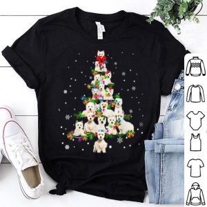 Awesome Cute West Highland White Terrier dog Christmas Tree gift shirt