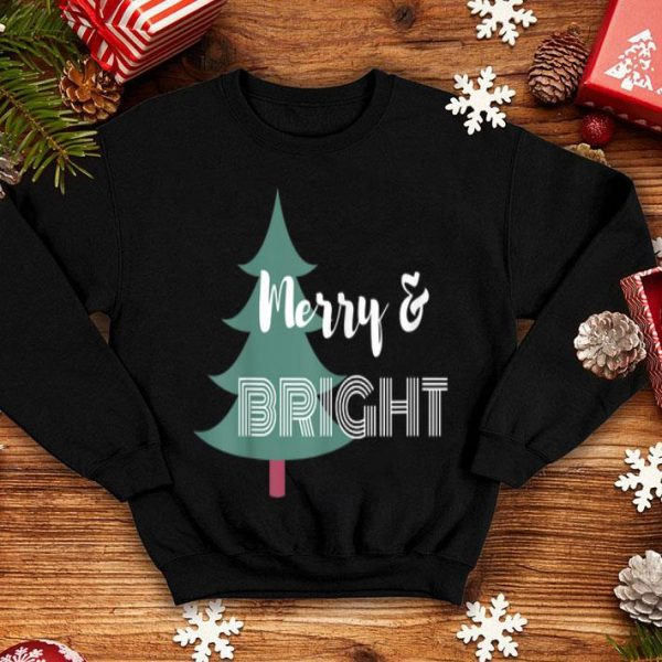 Awesome Fun Merry and Bright Christmas apparel shirt