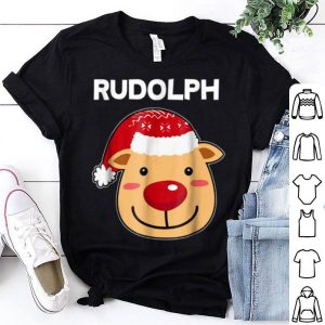 Awesome Santa Reindeer Rudolph Matching Christmas PJs shirt