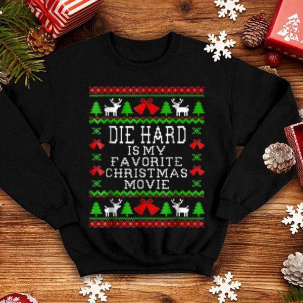 Beautiful Die Hard Is My Favorite Christmas Movie shirt