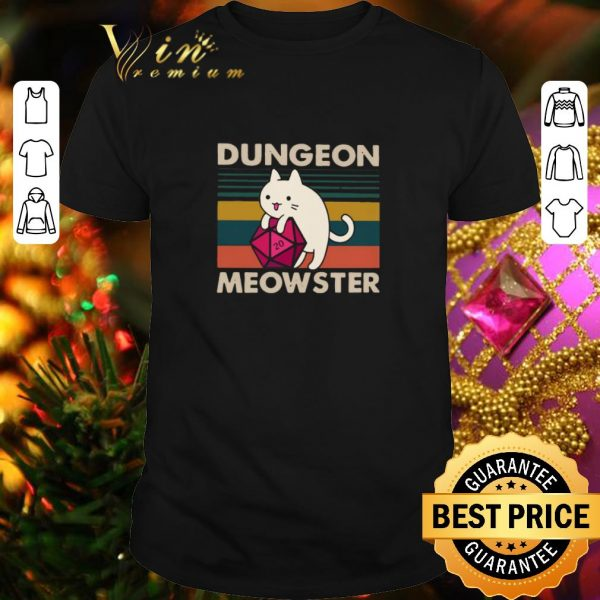 Cool Cat Dungeon meowster vintage shirt