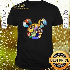 Cool Disney Princess Mickey head shirt
