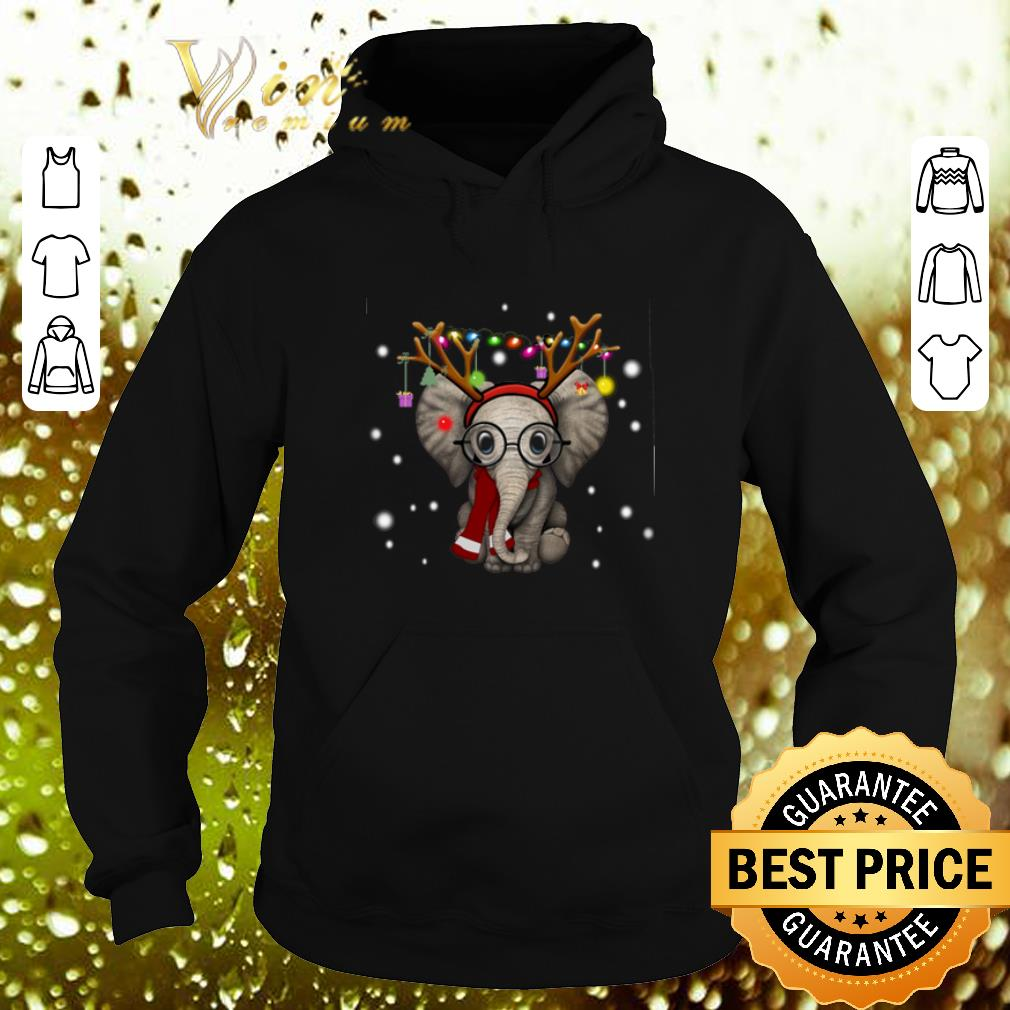 Cool Elephant reindeer merry and bright Christmas shirt 4 - Cool Elephant reindeer merry and bright Christmas shirt