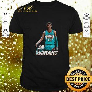Cool Ja Morant 12 Memphis Grizzlies Basketball signature shirt