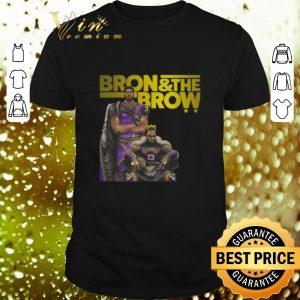 Cool LeBron James Bron & The Brow Anthony Davis Lakers shirt