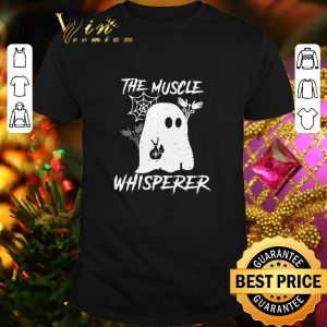 Funny Boo Ghost Nurse the Muscle Whisperer shirt