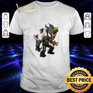 Funny Venom Baby Groot shirt