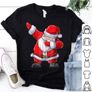 Hot Boys Christmas Dabbing Santa Kids Men Xmas Gifts Tees shirt
