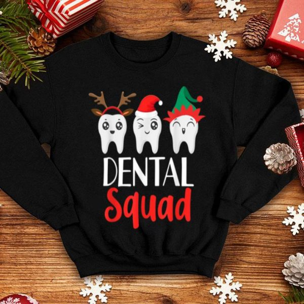 Hot Christmas Dental Squad Hygienist Dentist Outfit shirt