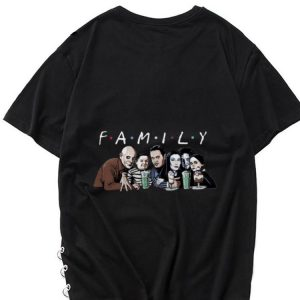 Hot Halloween Emily Addams Family Friends TV show shirt