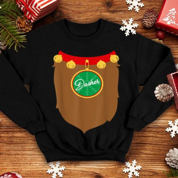 Hot Reindeer Costume Christmas, Dasher Santa Holiday Gift shirt