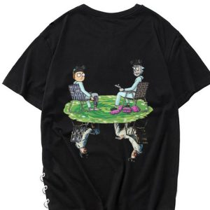 Hot Rick and Morty Crossover Walter and Jesse Breaking Bad shirt