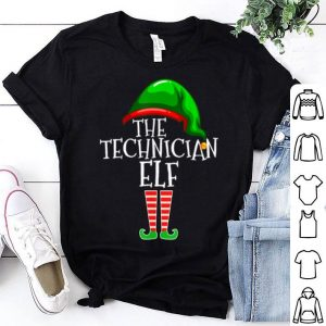 Hot The Technician Elf Family Matching Group Christmas Gift Tech shirt
